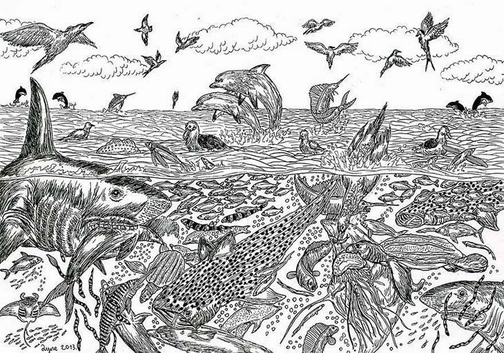 11-Year-Old-Child-Prodigy-Creates-Stunningly-Detailed-Drawings-Bursting-With-Life-12
