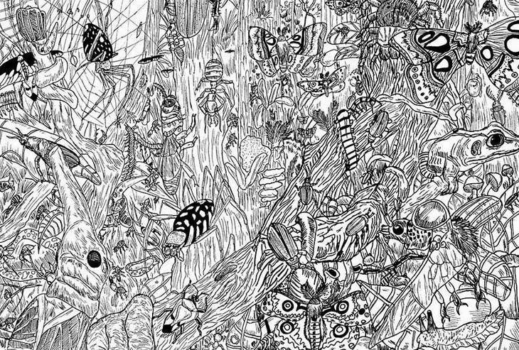 11-Year-Old-Child-Prodigy-Creates-Stunningly-Detailed-Drawings-Bursting-With-Life-5