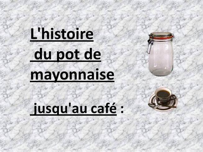 pot de mayonnaise