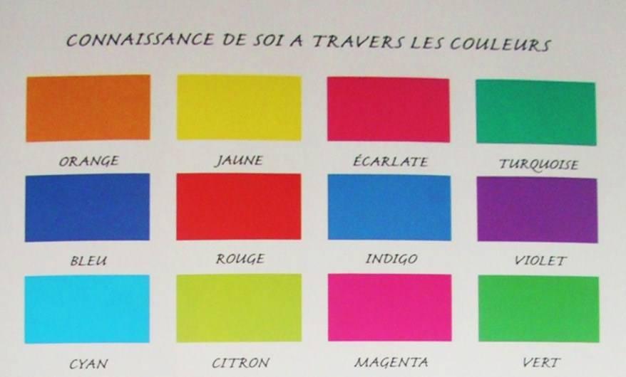 exercice des couleurs
