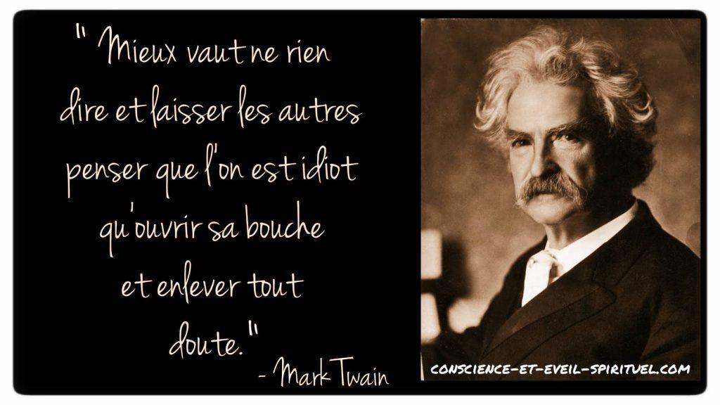 20 Citations Inspirantes De Mark Twain à Appliquer Dans La