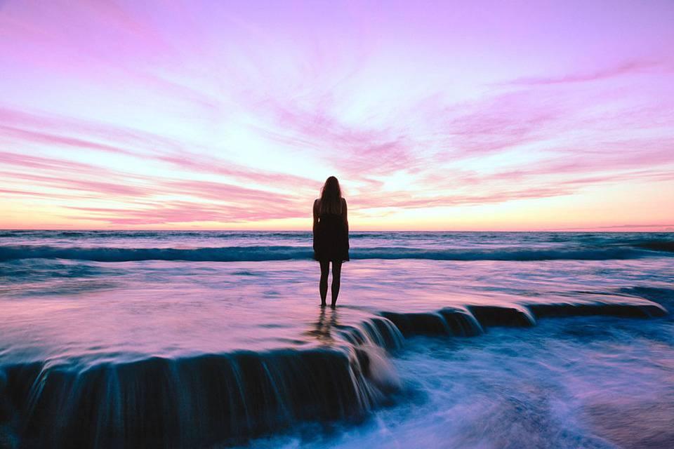 Plage, Mer, Sunset, Soleil Et La Mer, Abendstimmung