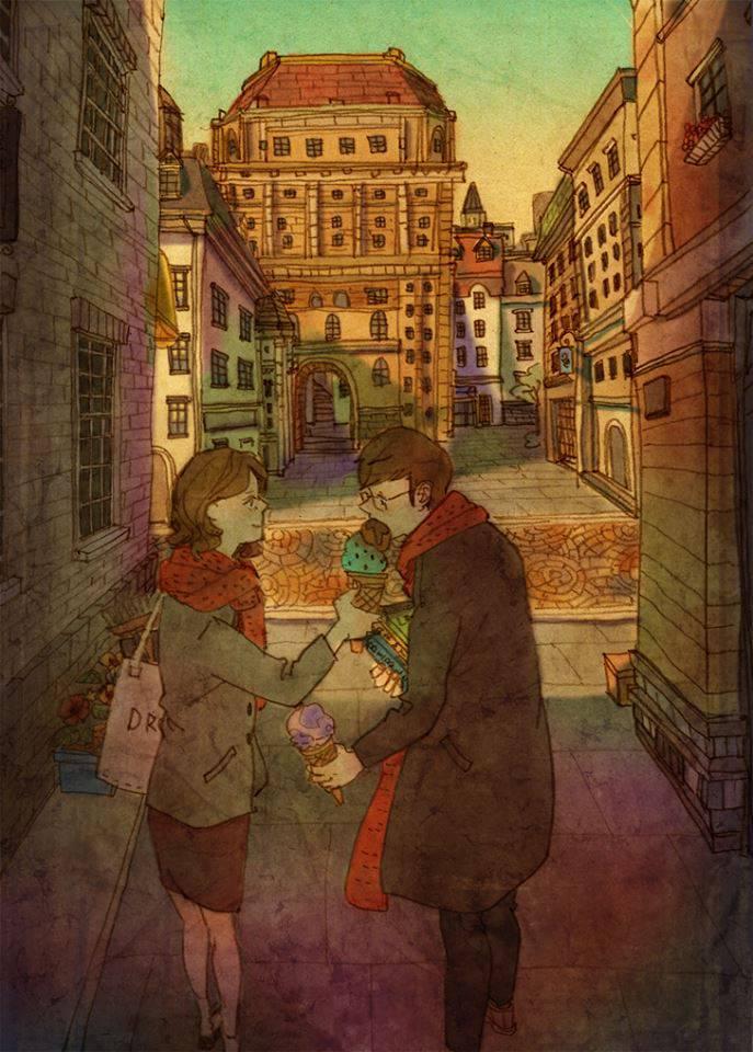 Sharingicecream Loveis By Puuung