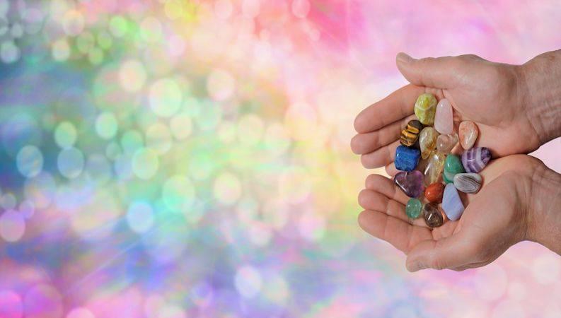 contrefaçon des pierres et cristaux