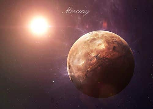 Mercure devient rétrograde le 7