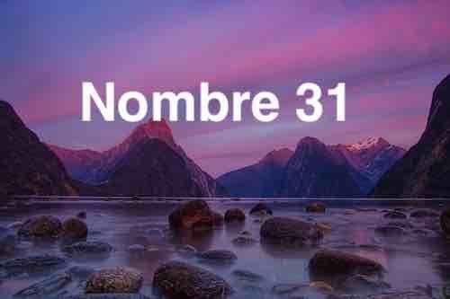 NOMBRE 31