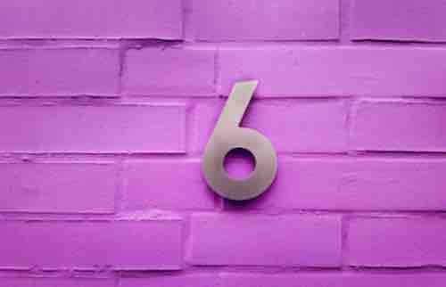 Signification du nombre 6