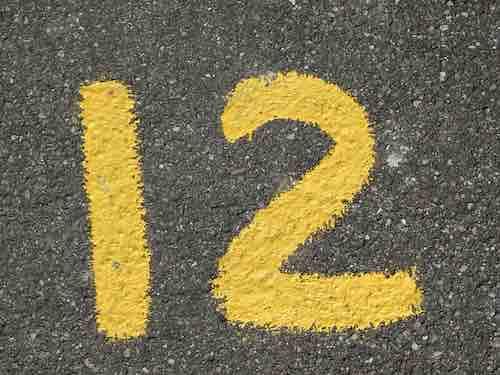 Signification du nombre 12 en numérologie Nombre-12