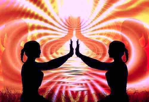 énergie spirituelle ensemble