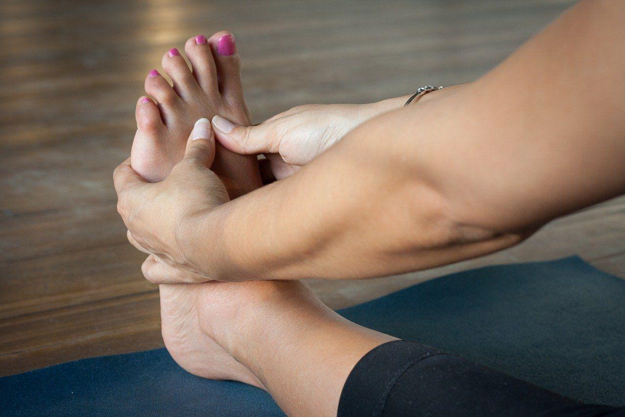 pieds qui grattent